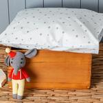 Astro Pamuklu Bebe Yastık Kılıfı 35x45 Cm Mavi