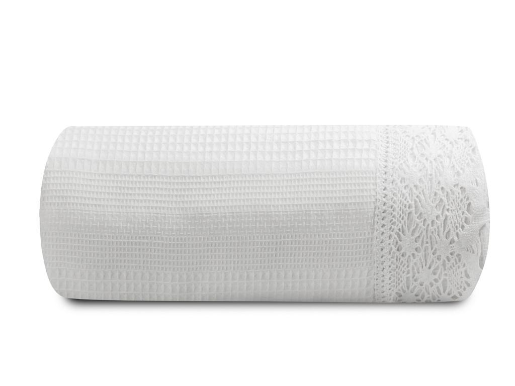 Vanity Kopanakili Tek Kişilik Pike 150x220 Cm Beyaz