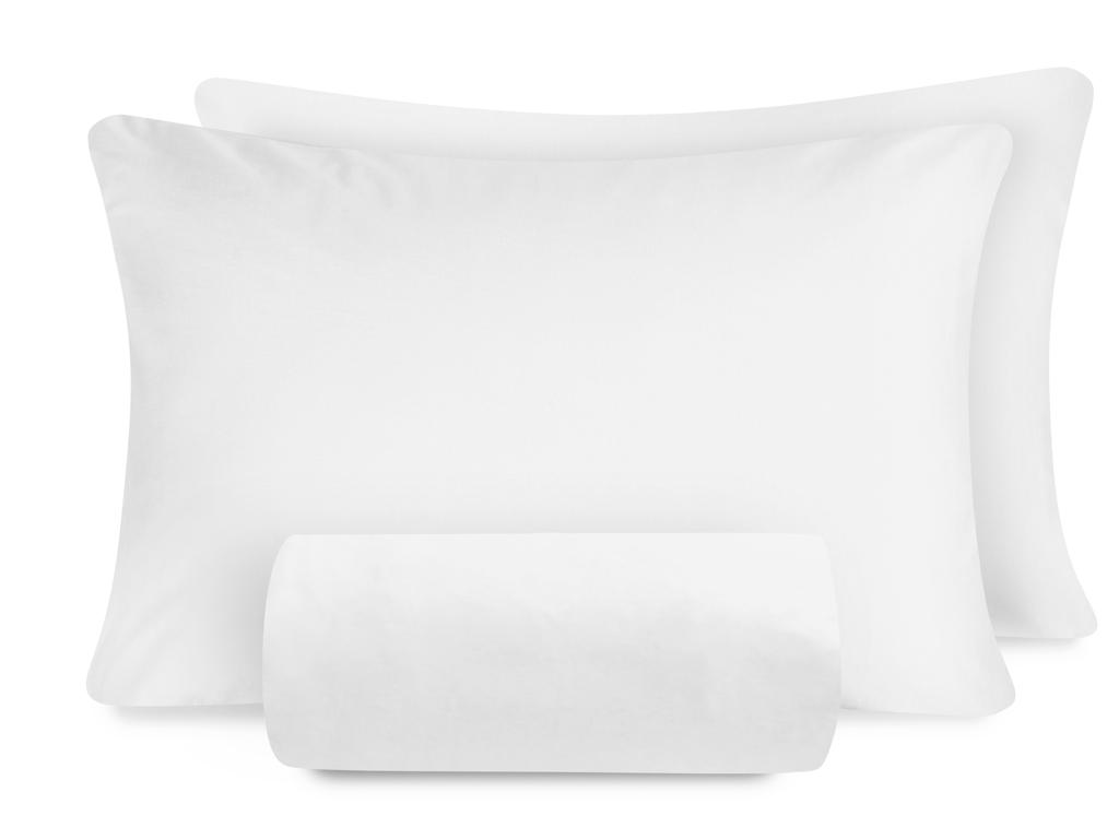 Duz Penye Çift Kişilik Lastıklı Çarşaf Tkm 160x200 Cm Beyaz