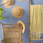 Summer Stripe Pamuk Peştamal 100x170 Cm Sarı