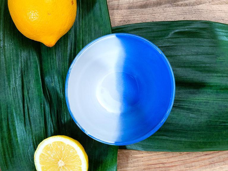 Vega Porselen Çerezlik 10 Cm  Beyaz - Mavi