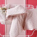 Astro Pamuklu Bebe Nevresim 100x150 Cm Pembe