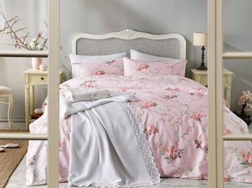 Vanity Rose Pamuklu Çift Kişilik Nevresim 200x220 Cm Pembe