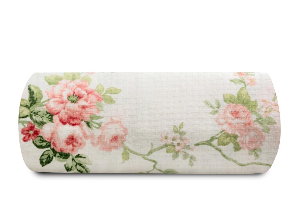 Vanity Rose Baskılı Çift Kişilik Pıke 220x240 Cm Pembe