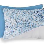 Fish Wave Pamuklu 2'li Yastık Kılıfı 50x70 Cm Mavi
