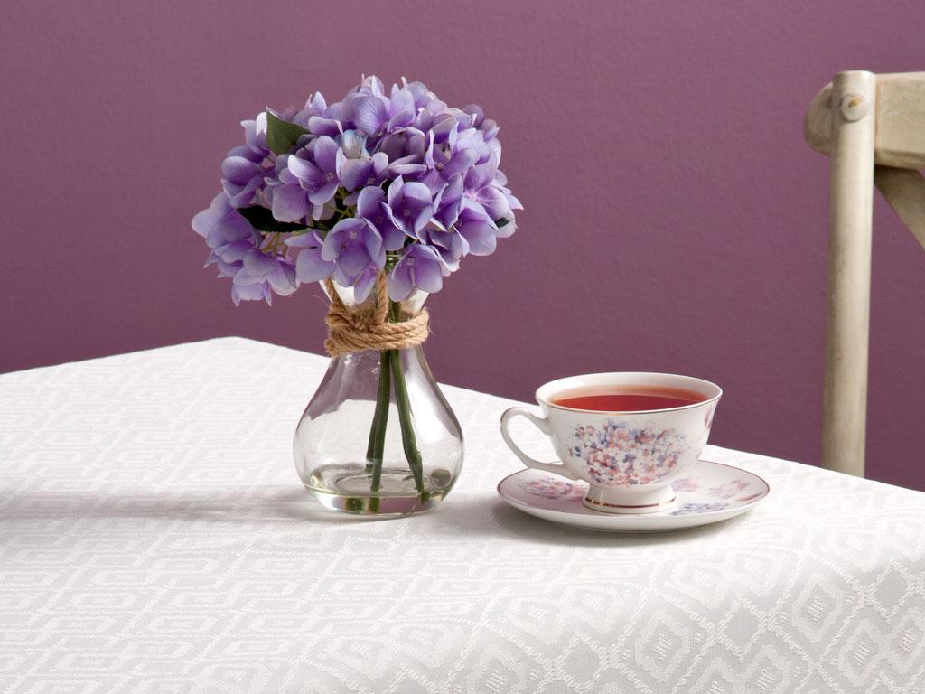 Alya Vazolu Yapay Çıçek 20 Cm Mor