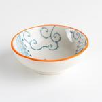 Julia Porselen Oval Çerezlik 8 Cm Turuncu