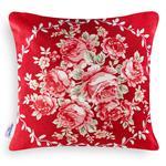 Majestic Rose Goblen Kırlent 45x45 Cm Bordo