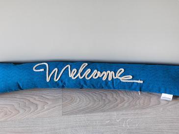 Welcome Kapı Önü Ağırlığı 8x83x15 Cm Mavi
