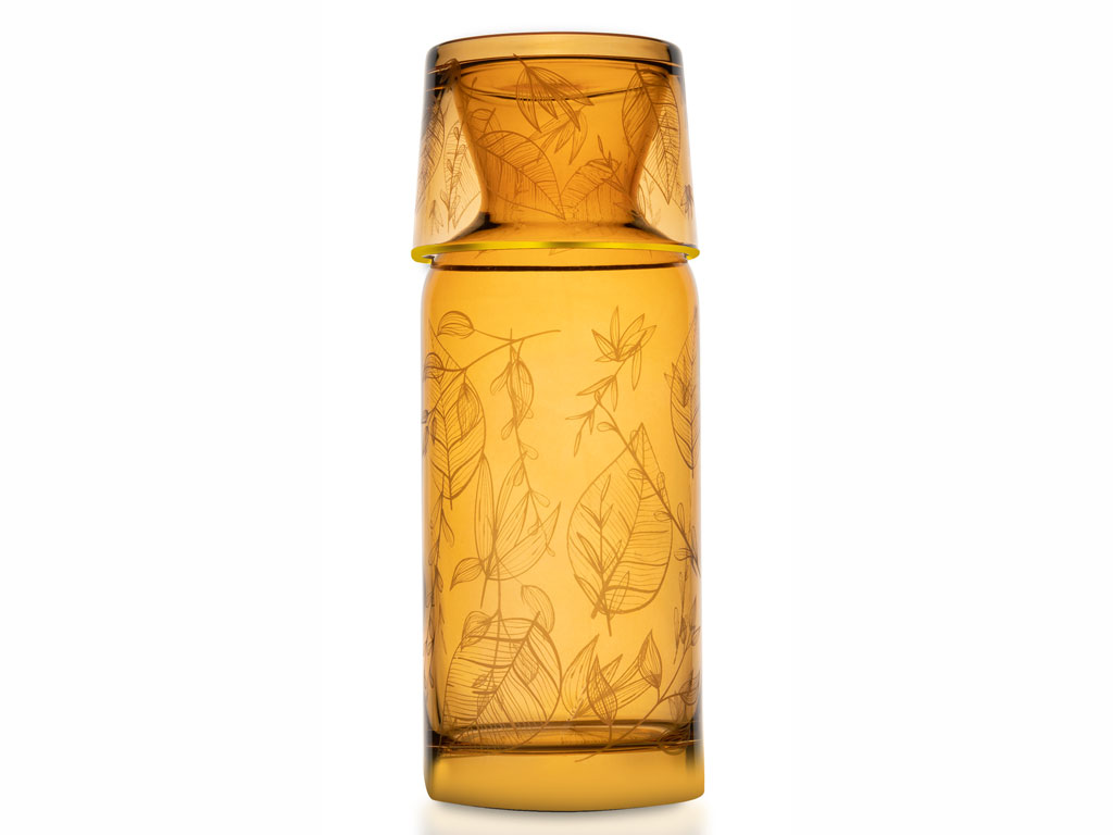 Laura Cam Başucu Meşrubat Bardağı 700 Ml Amber