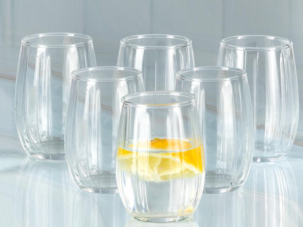 Lucia Cam 6'lı Kahve Yanı Su Bardağı 115 Ml Şeffaf
