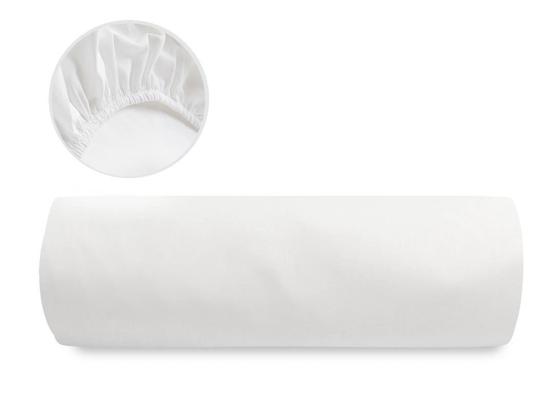 Düz Pamuklu Ara Ebat Lastikli Çarşaf 140x200 Cm Kırık Beyaz