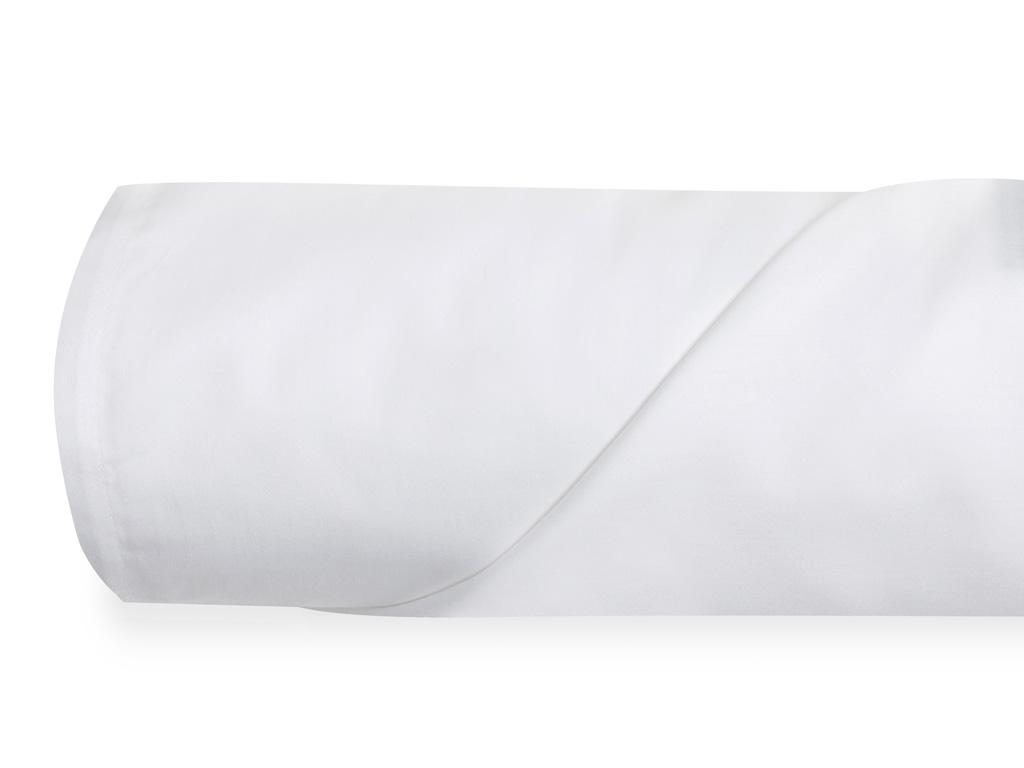 Duz Pamuk Saten King Size Çarşaf 260x280 Cm Beyaz