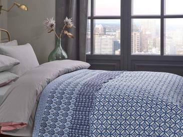 Urban Tile Çift Kişilik Çokamaçlı Yatak Örtü 200X220 Cm Mavi