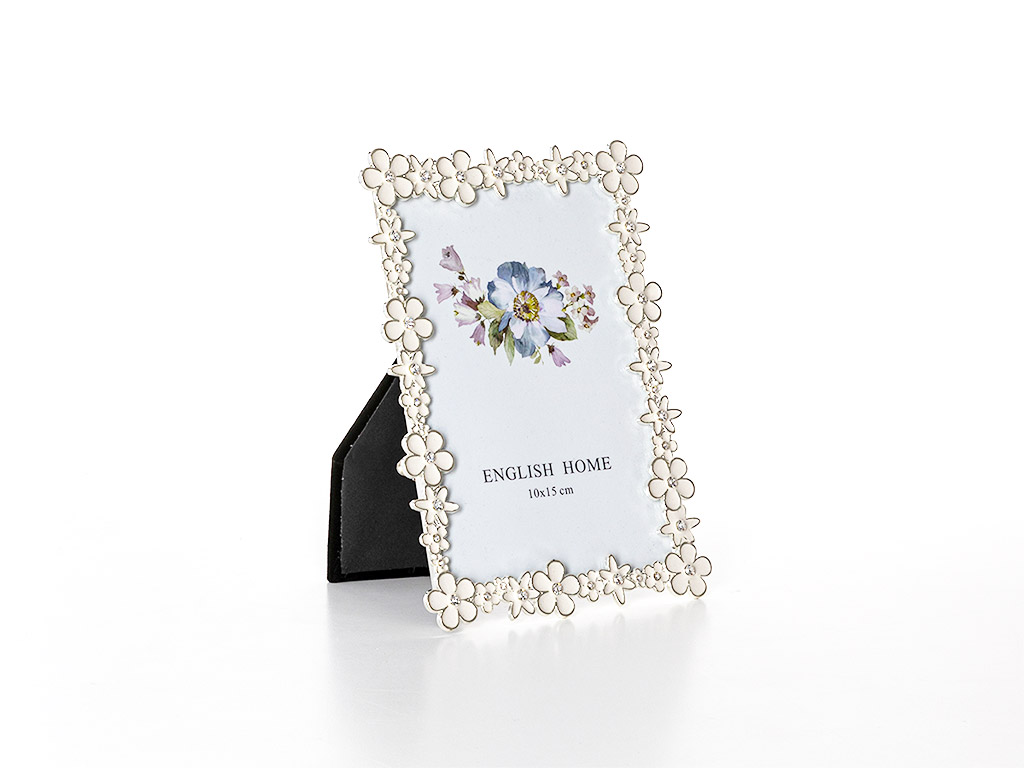 Isabella Çerçeve 10x15 Cm Beyaz