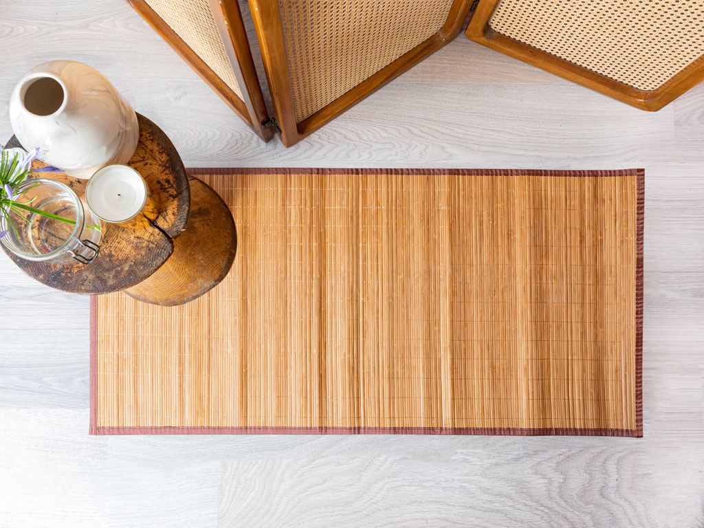 Simple Bambu Kılım 60x90 Cm Kahve