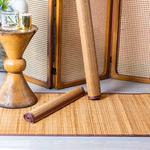 Simple Bambu Kılım 70x140 Cm Kahve