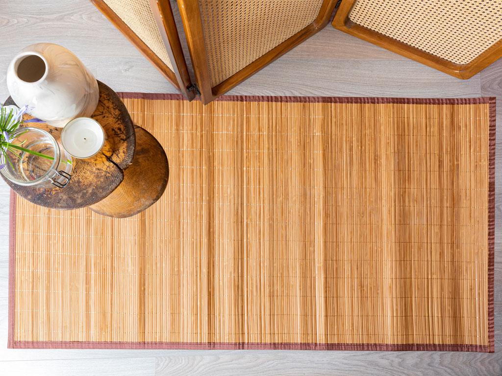 Simple Bambu Kılım 120x180 Cm Kahve