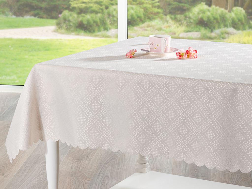 Kenzie Masa Örtüsü 150x200 Cm Taş Rengi