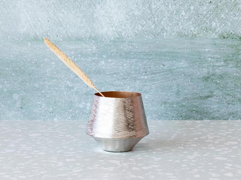 Brush Nickel Mumluk 15X15X12 Cm Nikel