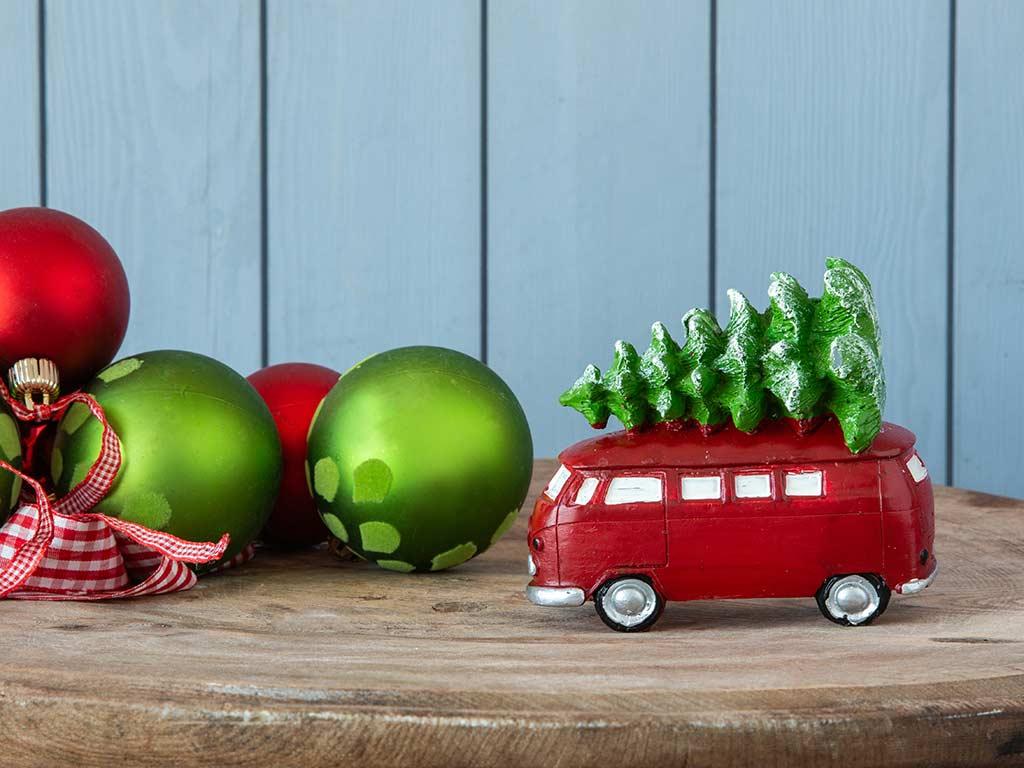 Bus Mum 11x6x10 Cm Kırmızı
