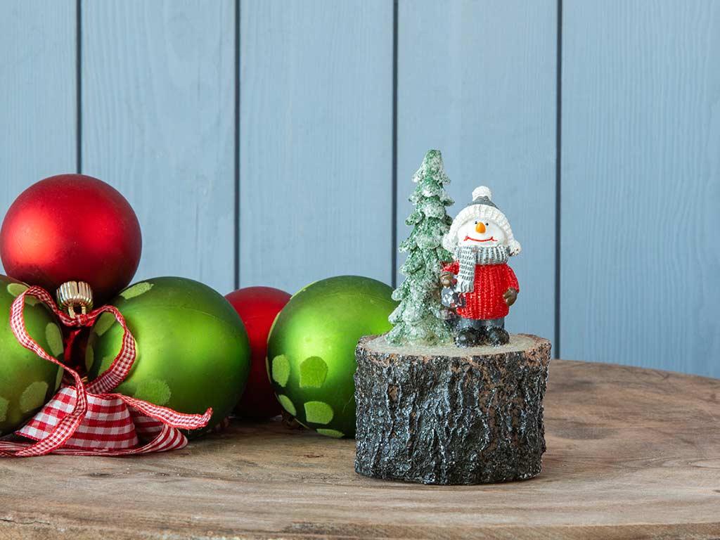 Snow Holiday Mum 8x13 Cm Renkli