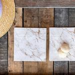 Marble Kağıt 22 Adet Kağıt Peçete 33x33 Cm Pembe