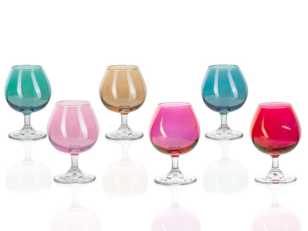 Charity Cam 6'lı Su Bardağı 175 Ml Renkli