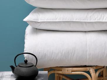 Winter Kaz Tüyü King Size Yorgan 215x235 Cm Beyaz