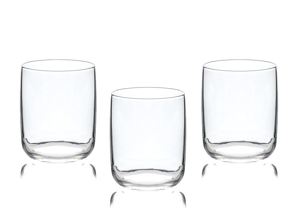 Sare Cam 3'lü Meşrubat Bardağı 270 Ml Şeffaf