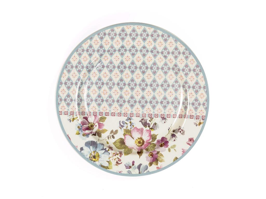 Folk Art Porselen Pasta Tabağı 15 Cm Renkli