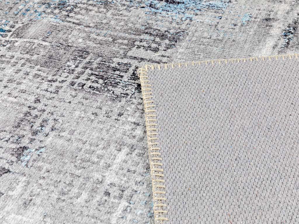 Eidola Şönil Halı 120x180 Cm Mavi - Gri