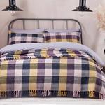 Bright Folk Bağlamalı Çift Kişilik Yatak Örtüsü Takımı 240x250 Cm Pembe
