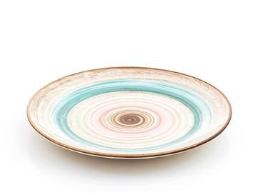 Natura Porselen Servis Tabağı 24 Cm Mavi