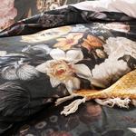 Baroque Art Pamuklu Çift Kişilik Nevresim Seti 200x220 Cm Yeşil