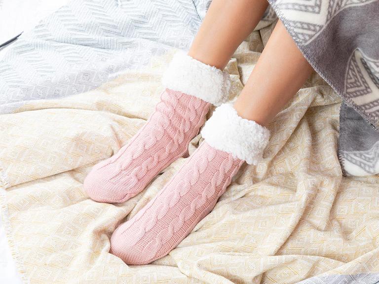 Softy Triko Kadın Çorap 39-41 Pembe