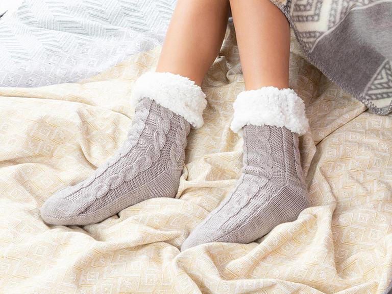 Softy Triko Kadın Çorap 36-38 Bej