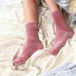 Velvet Kadife Kadın Çorap 36-38 Tarçın
