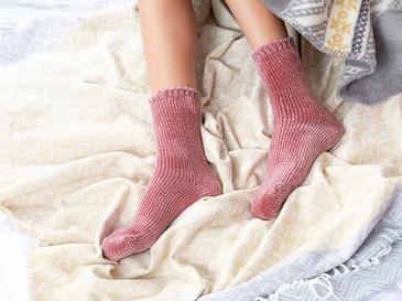 Velvet Kadife Kadın Çorap 39-41 Tarçın