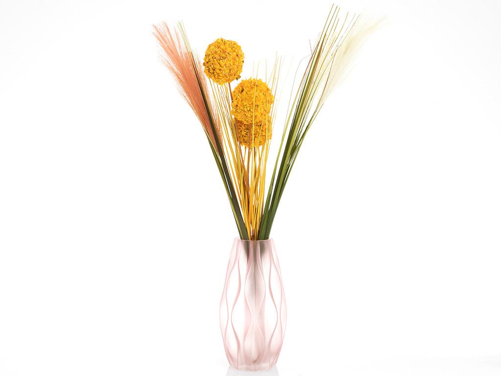 Grass Yapay Çıçek 75 Cm Krem