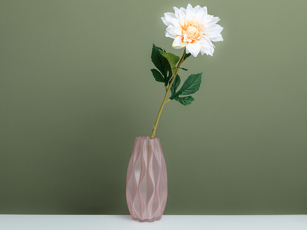 Peony Yapay Çıçek 67 Cm Beyaz