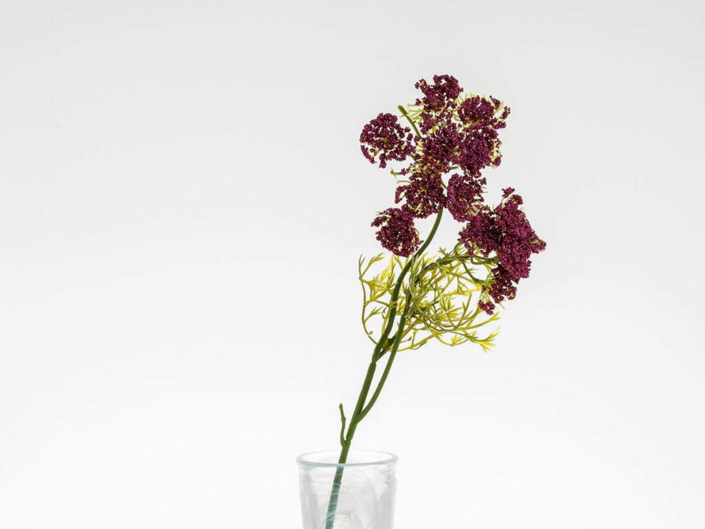 Alyssa Yapay Çıçek 55 Cm Açık Mor