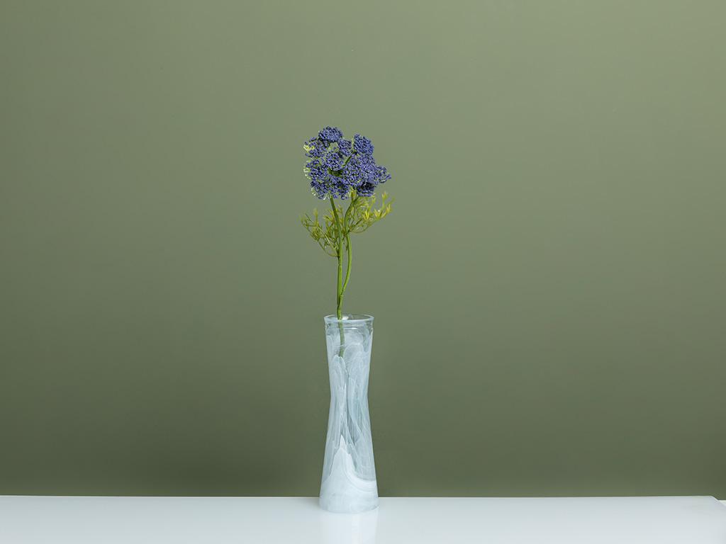 Alyssa Yapay Çiçek 55 Cm Mavi