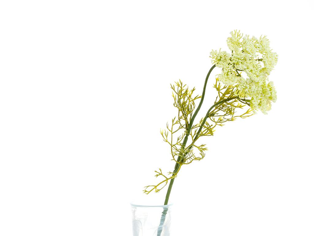 Alyssa Yapay Çıçek 55 Cm Krem
