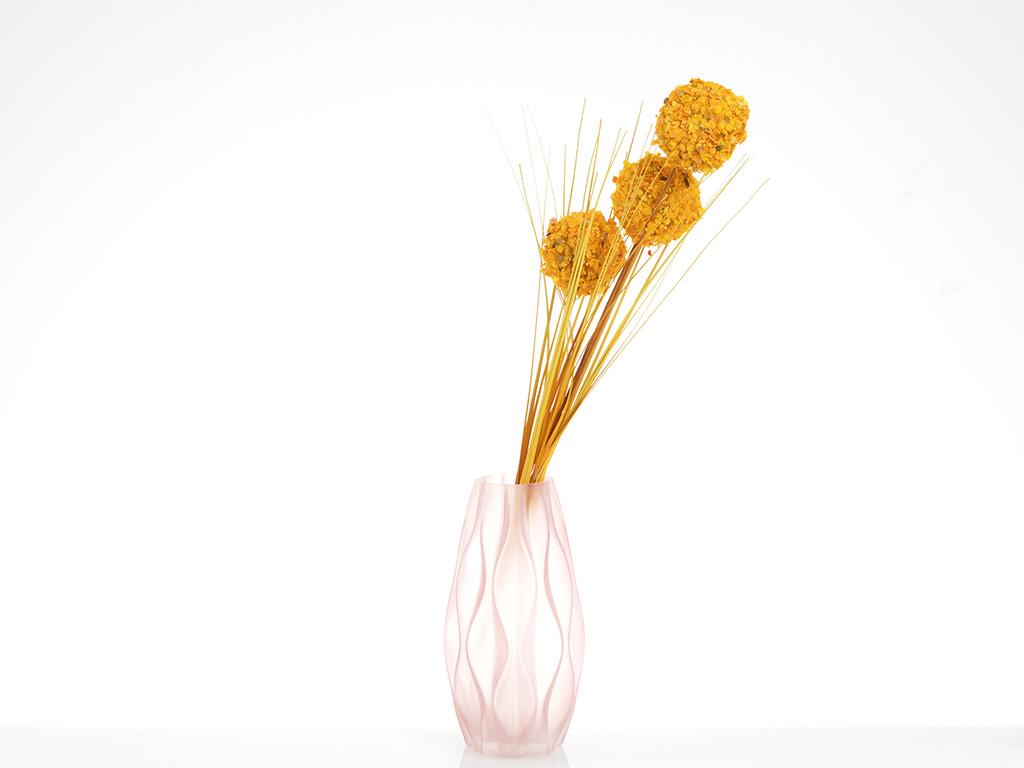 Grass Bush Yapay Çıçek 67 Cm Sarı