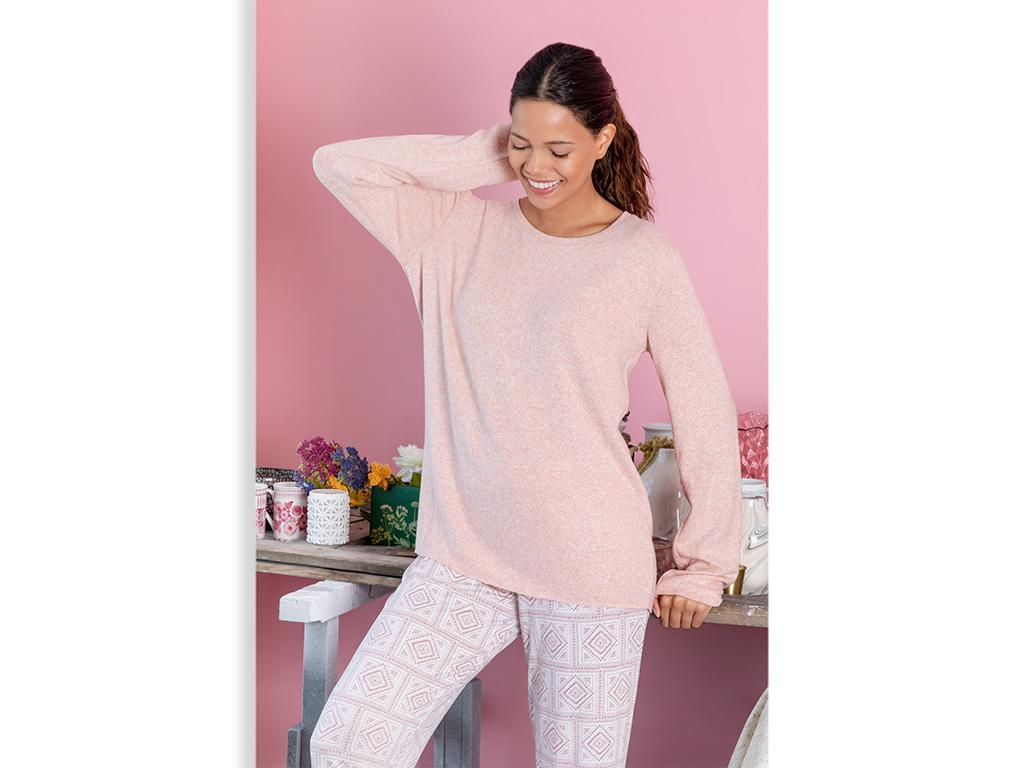 Geostitch Viskon Bayan Pijama Takımı S Tarçın