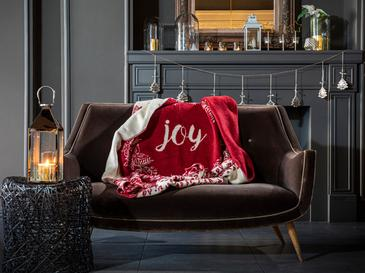 Joy Akrilik Tv Battaniye 130x170 Cm Kırmızı