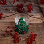 Pine Tree Kar Küresi 4,5x4,5x6,5 Cm Yeşil