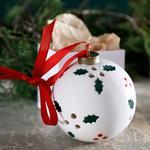 Winter Joy Askılı Aksesuar 8,5x8,5x9,5 Cm Beyaz - Kırmızı