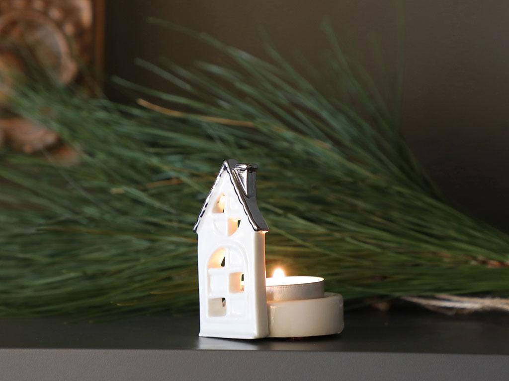 Sweet Home Mumluk 6,2x5,3x7,9 Cm Beyaz
